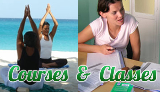 Isla Mujeres Classes and Courses Spanish, Yoga
