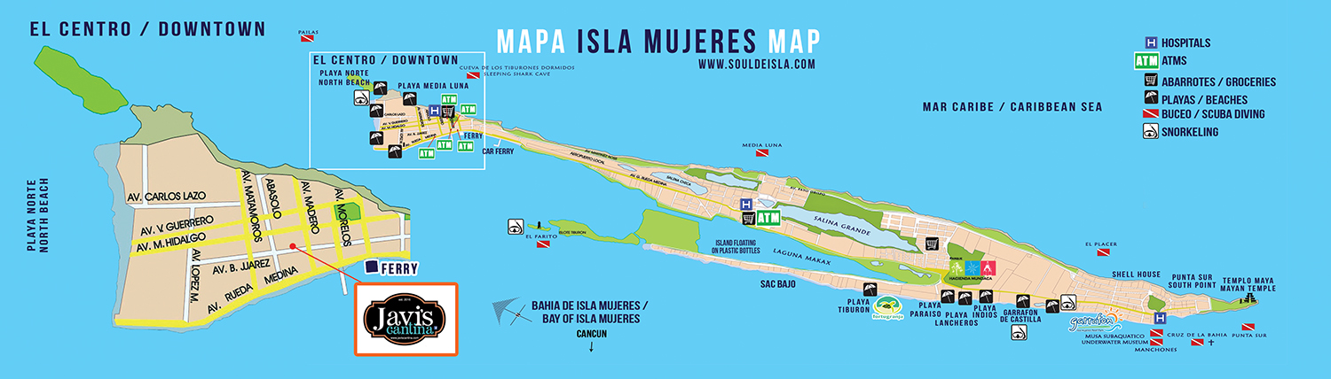 isla-mujeres-restaurants-map-javis-cantina